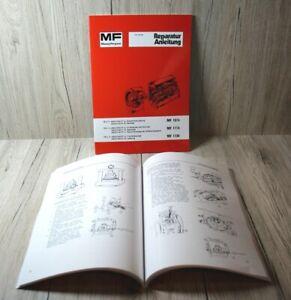 Massey Ferguson Werkstatthandbuch für die Traktoren MF1014 MF1114 und MF1134 .