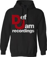 Def Jam Recordings Music Hoodie Retro Music Rap Hip Hop Iconic Urban Gift TOP