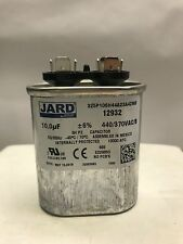 10 MFD Run Capacitor uf 440 v vac volts AC Electric Motor HVAC oval