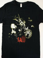 Saw Horror Movie Poster Head Trap Jigsaw T-Shirt