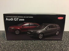 Audi Q7 2009 Graphite Grey (Nur das graue Modell) 1:18 Kyosho