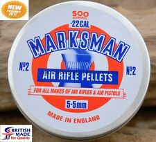 500 MARKSMAN POINTED PELLETS .22 CAL