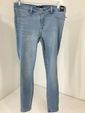 ABERCROMBIE & FITCH WOMEN'S HARPER LOW RISE JEGGING LIGHTWASH 30/10R NWT $78