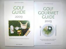 2 x GOLF GUIDE 2009 GOURMET CHRISTOPH PAYER TICHATSCHEK