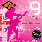 ROTOSOUND R9 ROTO PINKS SUPER LIGHT ELECTRIC GUITAR STRINGS 9-42  for sale