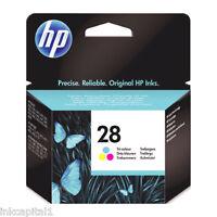 HP N 28 COLORE ORIGINALE OEM CARTUCCIA A GETTO DI INCHIOSTRO C8728AE DESKJET