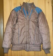 Chill Chasers Mauve Insulated Puffy Coat w/ Faux Vest, Womens L