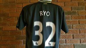 Wigan Athletic football shirt 2012. Size Medium. RYO 32