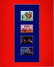 Hanna Barbera FILM STRIP STYLE PRINT PRO MATTED- Yogi Quick Draw Scooby Doo