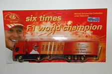 Werbetruck - Michael Schumacher Collection - Weltmeiseter Truck Nr. 1 - 1:87 - 3