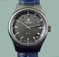 "Vintage 1970's ""DEFY"" Very Large MOVADO-ZENITH Automatic  Men's Divers (?) Watch"