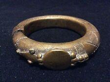 Bracelet bronze Afrique ethnie Minchika Nigéria