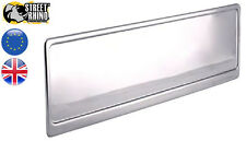AIXAM GTO in acciaio inox color argento Numero Targa Surround UNIVERSALE