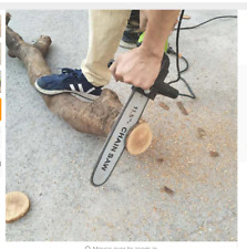 Angle grinder modified Electric saw, transfer grinder chain saw head conversion,