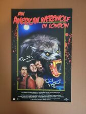 David Naughton Autographed An American Werewolf In London 11x17 Poster Print