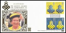 1990 GB Queen's Award to Industry Benham Gold 500 (52) Official FDC London SHS