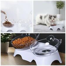 Anti-Vomiting Orthopedic Pet Single/Double Bowl For Cat Pet