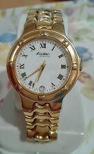 Reloj marca kolber geneve K-8340 P5 Swiss 18k gold electro plated saphirecrystal