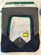 2018 THE MASTERS AUGUSTA NATIONAL GOLF CINCH BAG BACK PACK TRAVEL BAG NEW W/TAGS