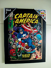 "CAPTIAN AMERICA # 112 6 1/2 X 8 1/2"" FRAMED WALL HANGING"