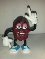 Retro Vintage California Raisins 1987 Bendable figure Christmas Stocking Stuffer
