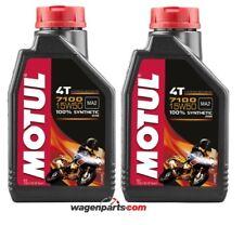 Aceite Motos 4T Motul 7100 15W50, pack 2 litros