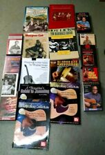 Big Lot Flatpicking Bluegrass Guitar Vhs Tapes & Books Banjo Kaufman Rice