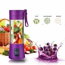 Mini Portable Smoothie Blender USB Juicer Cup Fruit Mixing Machine 4-Blades