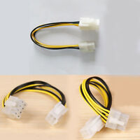 """10PCS 7"""" 4-pin Power Extension Cable Male to Female Motherboard CPU Cord Adapter"""