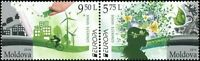 "Moldova 2016 CEPT Europa ""Think Green"" 2 MNH stamps"