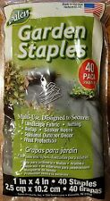 Dalen Products Garden Staples Secure Landscape Fabric Net 40 Pack Soaker Hoses