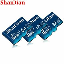 SHANDIAN TF Card 16GB 32GB 64GB Class 10 Memory Card 4GB 8GB Class 6 Smart SD Ca