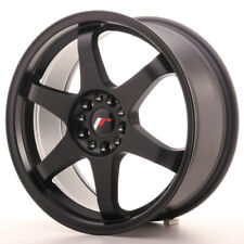 Japan Racing JR3 Alloy Wheel 18x8 - 4x108 / 4x114.3 - ET30 - Matt Black