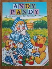 ANDY PANDY x5 Sweater Knitting Patterns by Gary Kennedy intarsia