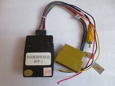 RGB CCD Adaptor Canbus/Cable to link media system to ORIGINAL VW CAMERA