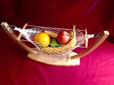 BRAND NEW Retro Christmas Gift Idea!!Home Decor FRUIT BANANA HAMMOCK BASKET BOWL
