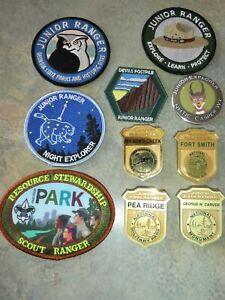 Junior Ranger National Park Badges & patches & Pin & Scout & Georgia Park 10