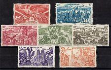 MADAGASCAR: SERIE COMPLETE DE 7 TIMBRES P.A. N°65/71 NEUF** MNH Cote: 14,50€