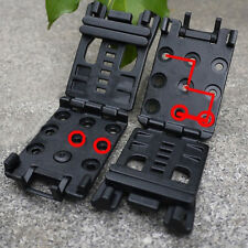 Tactical EDC Multi Function Belt Clip K Sheath Kydex Scabbard Waist Clamp CF