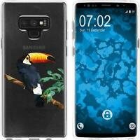 Silicone Case for Galaxy Note 9 Silicone Case vector animals M5  Cover