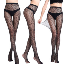 e843e6c17 Lace Fishnet Top High Hold-up Sexy Hollow Black Mesh Stocking Pantyhose  Socks