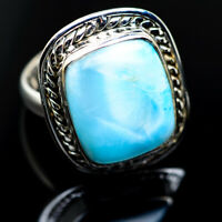 Larimar 925 Sterling Silver Ring Size 8.25 Ana Co Jewelry R984307F