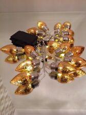 NEW Bethlehem Lights 15 Lightbulb LED Light Strand Rose Gold