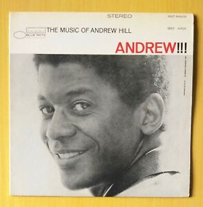 ANDREW HILL  the music of.. - blue note original Italy LP NM with John Gilmore