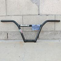 SUNDAY BMX BIKE STREET SWEEPER 4 PIECE HANDLEBAR BLACK BARS PRIMO CULT
