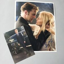 David Morrissey 'Basic Instinct' signed in-persona foto 20 x 25 autógrafo
