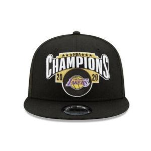 LA Lakers New Era 2020 NBA Finals Champions 9FIFTY Snapback Championship Cap Hat