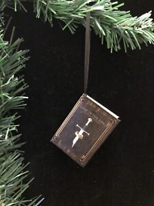 Lord of the Rings Miniature Book Christmas Ornament