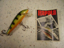 RAPALA COUNTDOWN CD-7 P_ESCHE ARTIFICIALI- SINKING 7cm/8g PERCH PERSICO