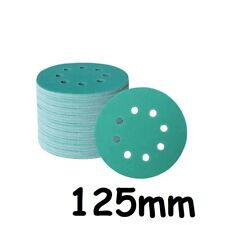 Wet and Dry Sanding discs 125mm 5 inch Sandpaper Film Pads 180- 3000 GRIT 8 Hole